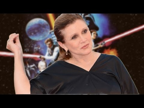 Carrie Fisher Prepping For Long STAR WARS VII Shoot