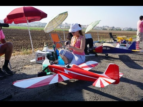 The only girl in the flight model airplane radio in Israel- hagar weinberger
