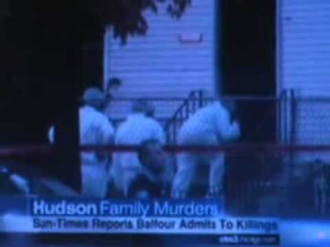BALFOUR ALLEGEDLY CONFESSES TO  HUDSON MURDERS