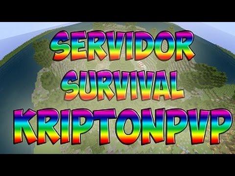 Server survival minecraft 1.8/¡TODAS! KriptonPVP [No hamachi] [Premium y no premium]