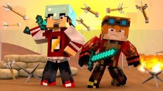 Minecraft: HARDCORE 3.0 DIA 1 - VERSÃO DE DUPLA  ‹ AMENIC ›