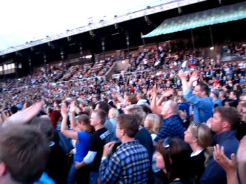 Foo Fighters - Times Like These live @ Stockholm Stadion 2011-06-22