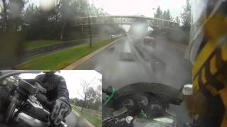 Motorcycle tips on Riding in the Rain (Tutorial)
