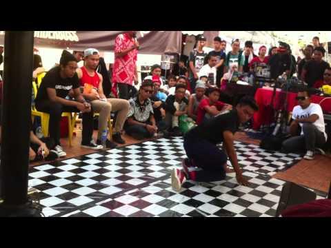 Underboss Jam 2014 Bboy 1on1 Battle Bboytennykidz Ms Brotherz Vs