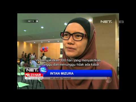 NET12 - Peringatan 100 Hari Pesawat MH370 Hilang