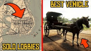 RDR2 ONLINE TIPS and TRICKS That Will FIX Your GAMEPLAY | Red Dead Online 10  Amazing Tips & Tricks!