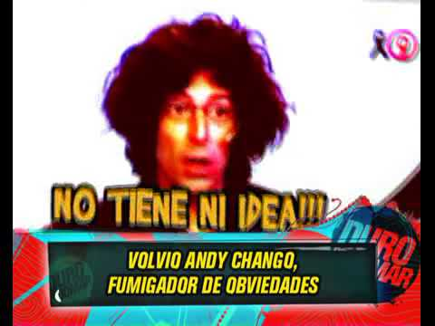 DURO DE DOMAR - ANDY CHANGO FUMIGADOR DE OBVIEDADES LA ROMPIO EN TVR  08-04-13