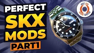 Sapphire and Ceramic! Perfect Seiko SKX Mods - Part 1