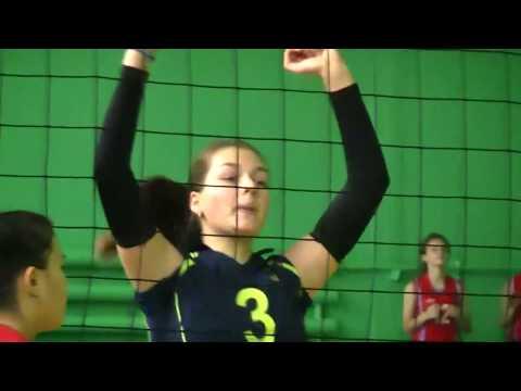 Волейбол девушки 2002-2003 г.р. Темиртау-1 - Хромтау 3:0