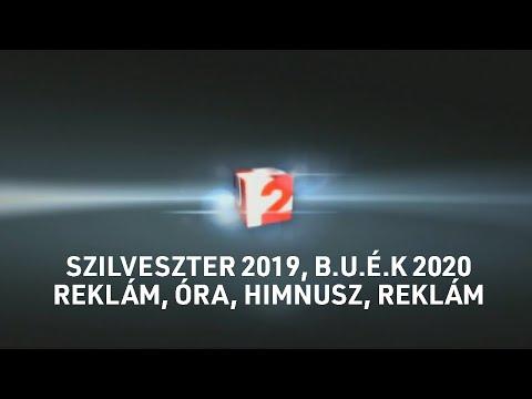 TV2 szilveszter 2019, BÚÉK 2020 - Csak Egy reklám, óra, Himnusz, Csak Egy reklám