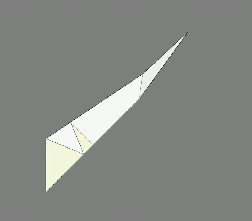 Оригами схема сборки павлин