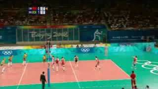 China vs Brazil - Women's Volleyball - Beijing 2008 Summer Olympic Games