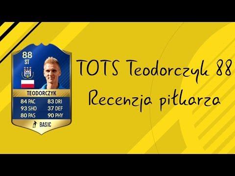 FIFA 17 TOTS Teodorczyk 88 Recenzja Piłkarza