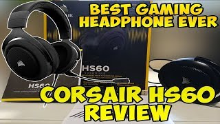 Corsair HS60 Review And Unboxing - Best Headphone For Fortnite