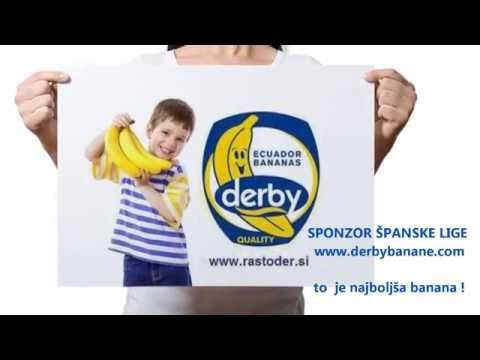 RADIO oglas | Barcelona - Real Madrid |  22.3.2015 ob 21h by DERBY banana PROMO