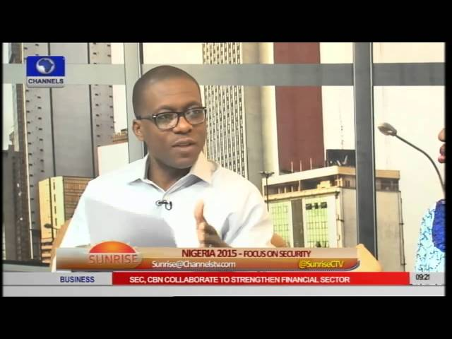 Sunrise: FG Urged To Take Security Seriously Ahead Of 2015 Polls pt 1
