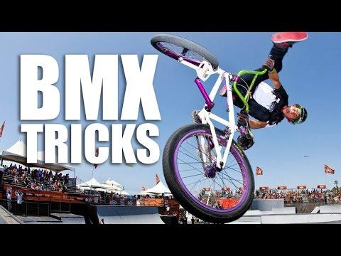 BMX TRICKS - БМХ ТРЮКИ | Школа BMX Online #9