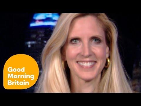 Ann Coulter Defends Alleged Plagiarist Melania Trump | Good Morning Britain