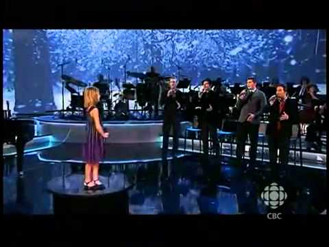 Jackie Evancho   Canadian Tenors & Friends Season of Song special on CBC 13 Dec 2010