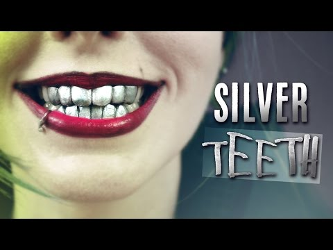Silver Grillz! Dentadura Metálica · How to make fake metallic Joker teeth denture with thermoplastic