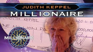 Historic Win By Judith Keppel - Who Wants To Be A Millionare?
