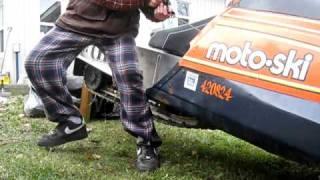 1980 Moto.Ski GPS 503 Start Up