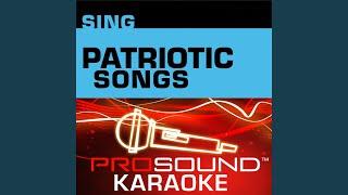 America The Beautiful Karaoke Instrumental Track In The Style Of Patriotic Songs