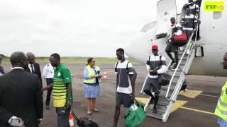 CAN 2017 | Les ''Lions'' à Bongoville
