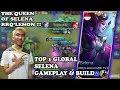 GG Parah Selena Lemon !! Top 1 Global Selena By RRQLemon Gameplay & Build - Mobile Legends