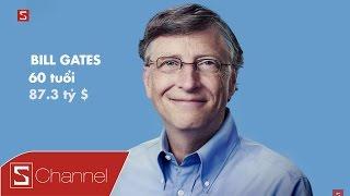 Video clip Schannel - Chân dung những tỷ phú công nghệ theo từng độ tuổi