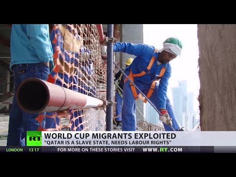 Modern Day Slavery: The exploitation of Qatar's migrant workers klip izle