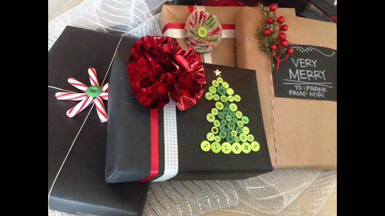 Envolturas originales para tus regalos diy gift wrapping - Envoltorios originales para regalos ...