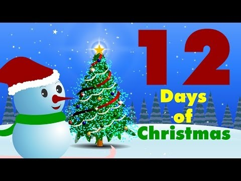 12 Days Of Christmas -HooplaKidz TV