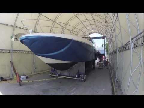 SignZoo Marine Wrap - 54ft SeaRay Sundancer