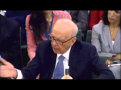"Rupert Murdoch testifies in Hacking Scandal Hearing: ""THIS IS THE MOST HUMBLE DAY OF MY LIFE"""