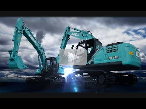 Kobelco Generation 10 SK200-10 SK210-10 Excavators