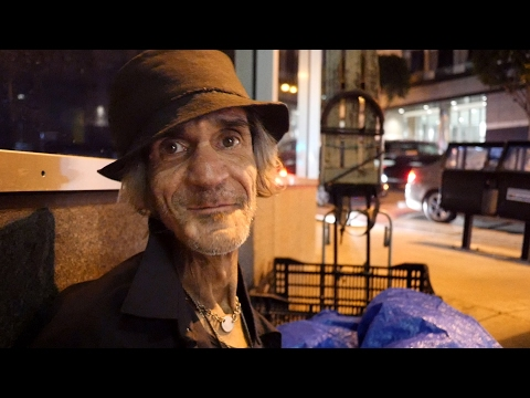 Kat in the Hat - homeless for 8 years in Los Angeles