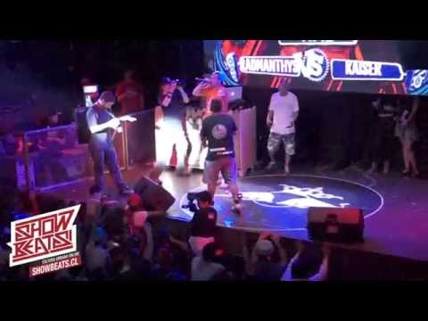 FINAL BATALLA DE LOS GALLOS 2014 CHILE | KAISER v/s RADAMANTHYS | SHOWBEATS.CL