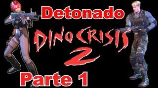 Detonado de Dino Crisis 2 (PS1) - Level Hard - Parte 1: Welcome to the Jungle