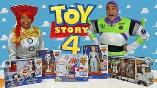 Toy Story 4 Toy Challenge - Jessie Vs. Buzz Lightyear !     Toy Review    Konas2002