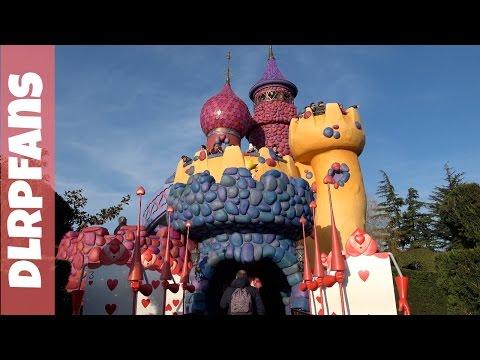 Alice's Curious Labyrinth at Disneyland Paris