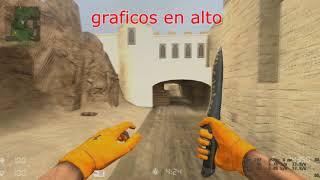 IMPORTANTES NOTICIAS proyecto high fps counter strike source DUST2-TERMINADO!