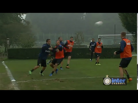 ALLENAMENTO INTER REAL AUDIO 10 10 2013