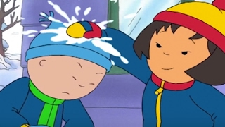 Animated Funny Cartoon ¦ Caillou loves the snow | Cartoon Caillou | Cartoons for Kids