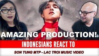 Indonesians React To LẠC TRÔI | OFFICIAL MUSIC VIDEO | SƠN TÙNG M-TP (Music Audio Off)