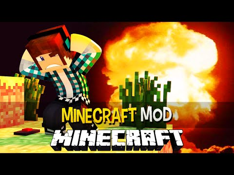 Minecraft: Armas e Mísseis Nucleares !! - Weapons Plus Mod