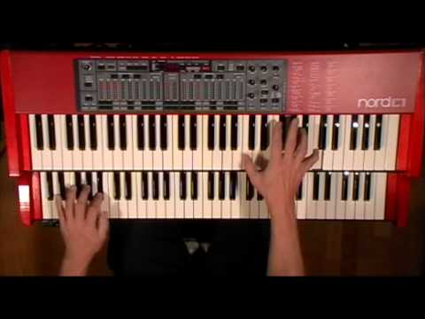 Mr. PC (John Coltrane) - Nord C1 Hammond B-3 Clonewheel Organ Clavia