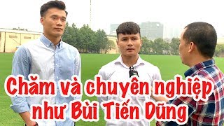 Nguyễn Quang Hải nói về thủ môn Bùi Tiến Dũng và giấc mơ U23 châu Á