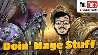 World Of Warcraft - Battle For Azeroth // Dungeon Runs and Mage Stuff Live!