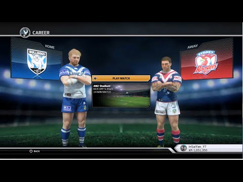 Rugby League Live 3 - Roosters Career (Round 10)